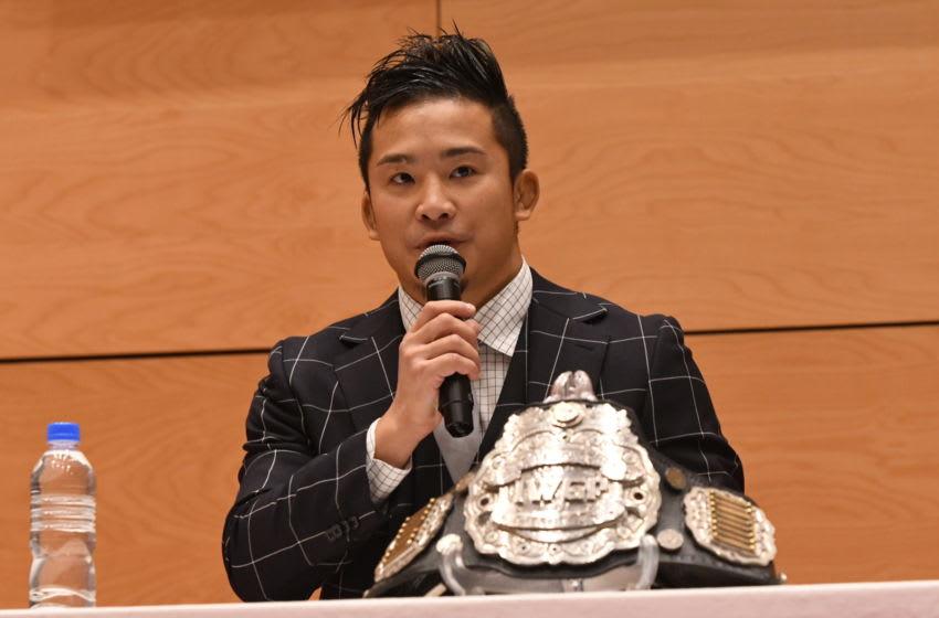 WWE, Kushida (Photo by New Japan Pro-Wrestling/Getty Images)