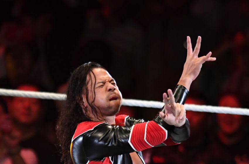 TOKYO,JAPAN - JUNE 28: Shinsuke Nakamura enters the ring during the WWE Live Tokyo at Ryogoku Kokugikan on June 28, 2019 in Tokyo, Japan. (Photo by Etsuo Hara/Getty Images)
