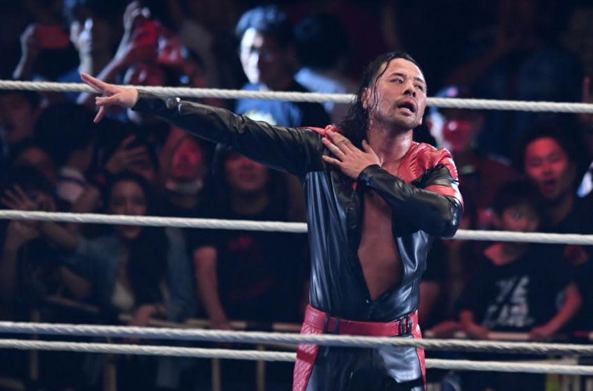 WWE, Shinsuke Nakamura (Photo by Etsuo Hara/Getty Images)