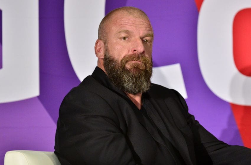 ANAHEIM, CALIFORNIA - JULY 11: WWE Superstar Triple H attends 2019 VidCon at Anaheim Convention Center on July 11, 2019 in Anaheim, California. (Photo by Jerod Harris/Getty Images)