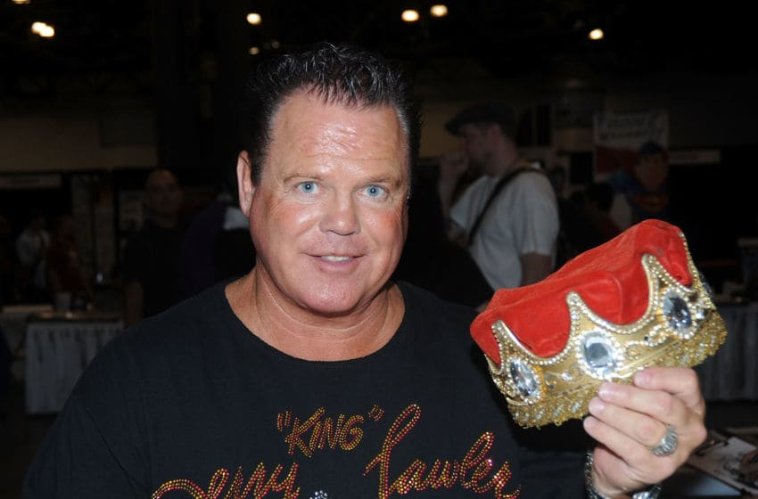 NEW YORK - OCTOBER 08: Jerry Lawler attends the 2010 New York Comic Con at the Jacob Javitz Center on October 8, 2010 in New York City. (Photo by Bobby Bank/WireImage)