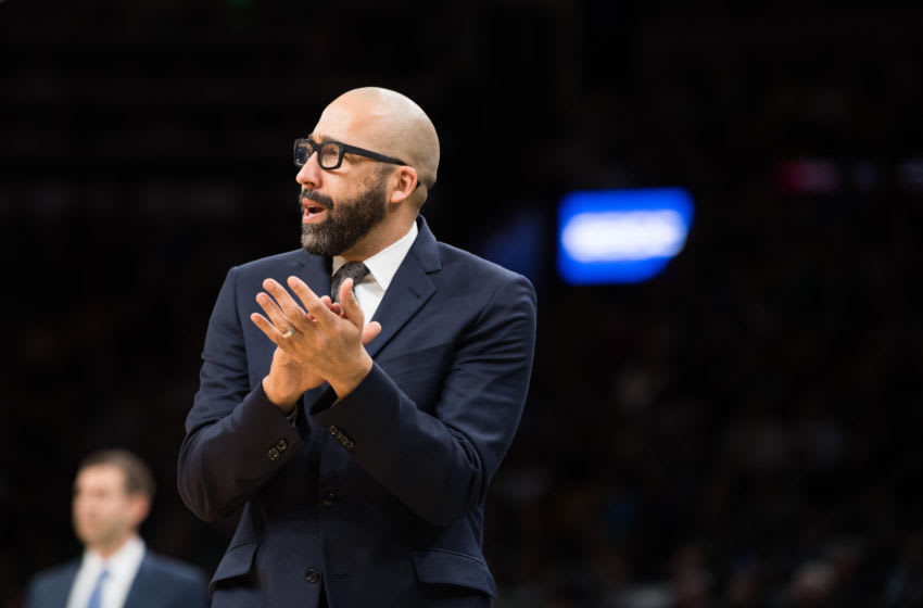 New York Knicks David Fizdale (Photo by Kathryn Riley/Getty Images)