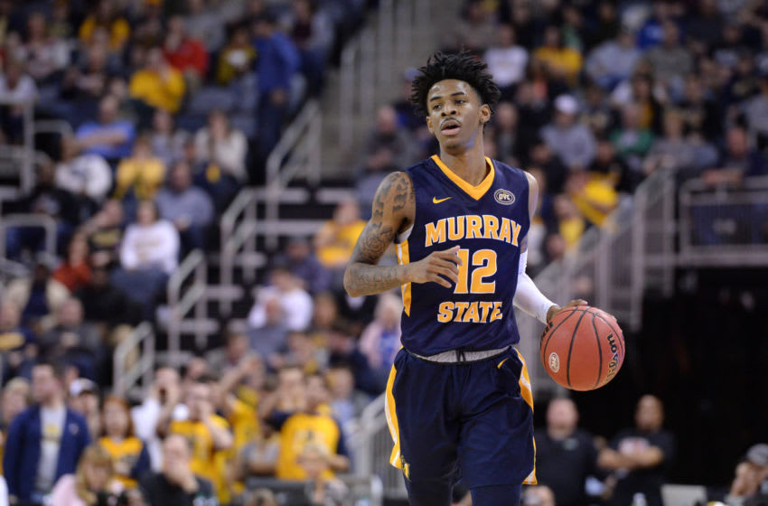 Murray State Ja Morant (Photo by Michael Allio/Icon Sportswire via Getty Images)