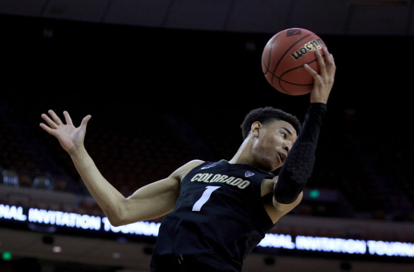 Tyler Bey #1 of the Colorado Buffaloes (Photo by Justin Casterline/Getty Images)