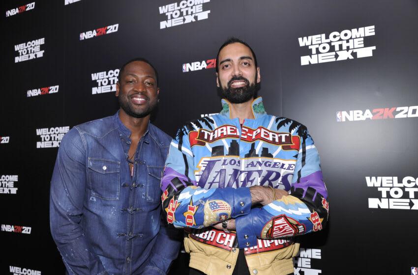 NY Knicks, NBA 2K22 (Photo by John Sciulli/Getty Images for NBA 2K20)