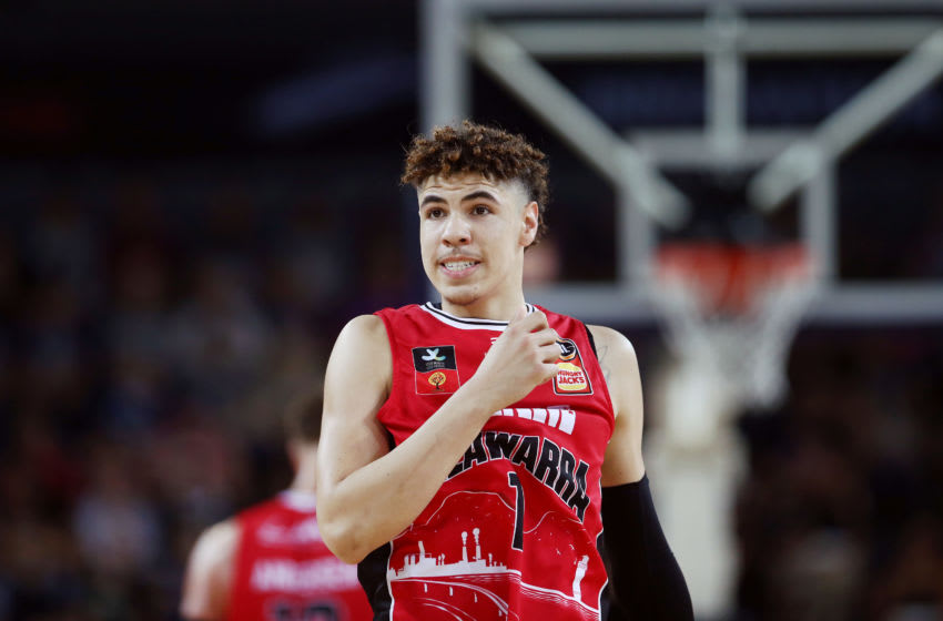 LaMelo Ball (Photo by Anthony Au-Yeung/Getty Images)