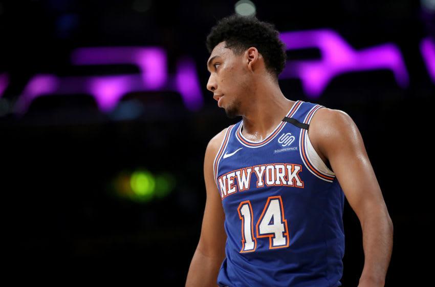 Allonzo Trier, New York Knicks (Photo by Sean M. Haffey/Getty Images)
