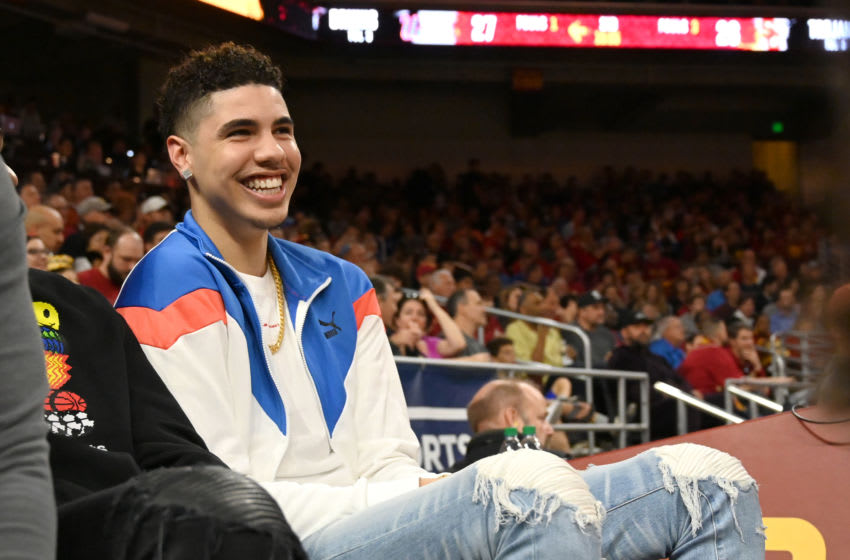 LaMelo Ball, New York Knicks draft prospect. (Photo by Jayne Kamin-Oncea/Getty Images)