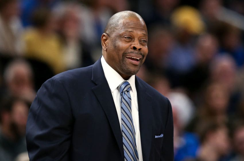 Former New York Knicks legend Patrick Ewing (Photo by Dylan Buell/Getty Images)