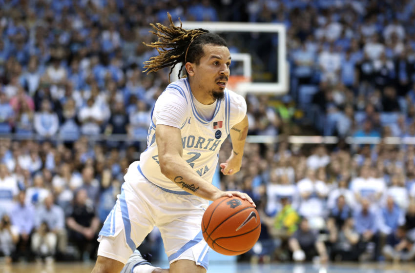 Cole Anthony, New York Knicks draft prospect (Photo by Andy Mead/ISI Photos/Getty Images)