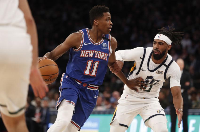 Frank Ntilikina, New York Knicks (Photo by Michael Owens/Getty Images)