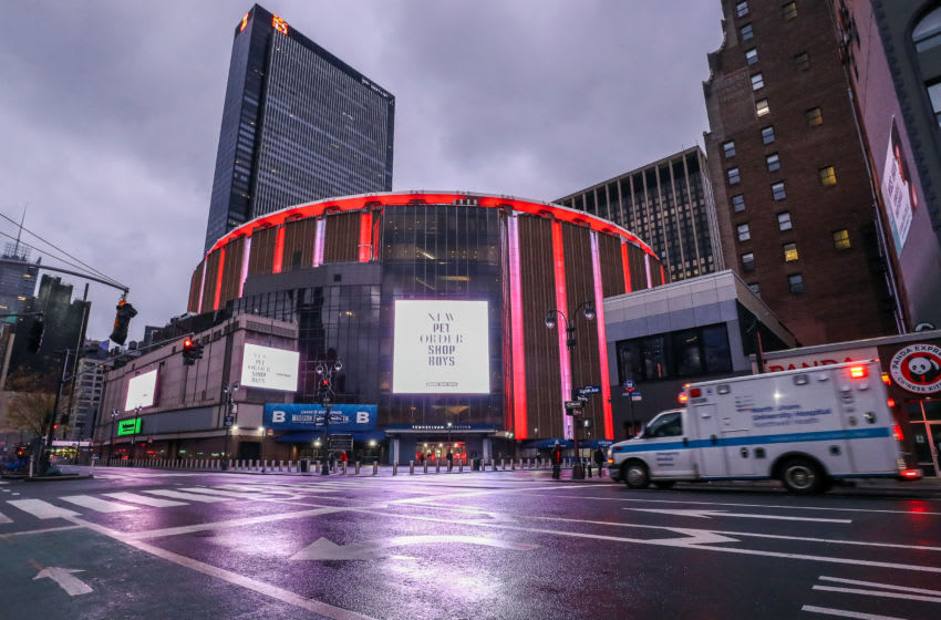 Madison Square Garden, New York Knicks. (Photo by Arturo Holmes/Getty Images)