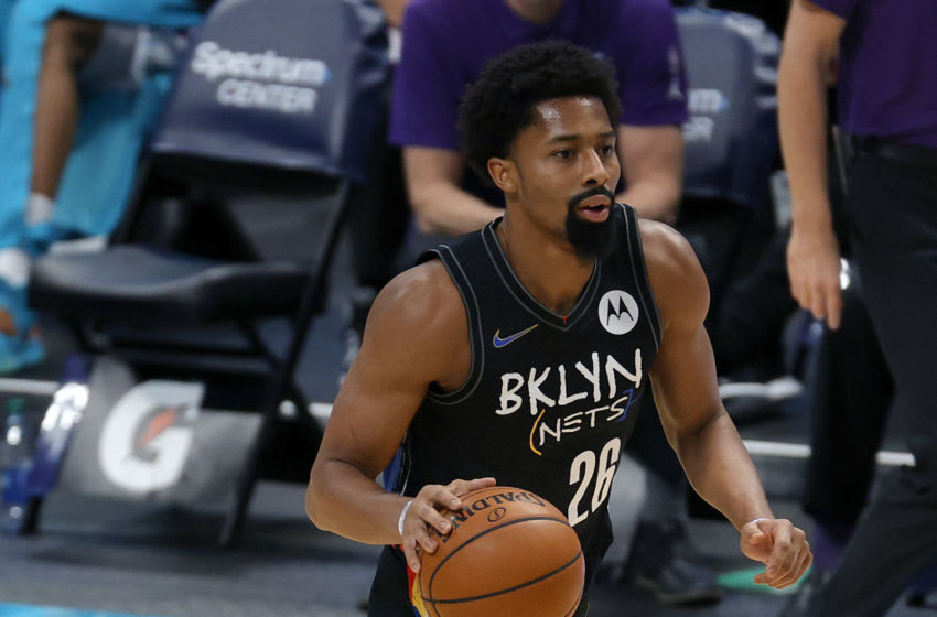 Spencer Dinwiddie, NY Knicks. (Photo by Jared C. Tilton/Getty Images)
