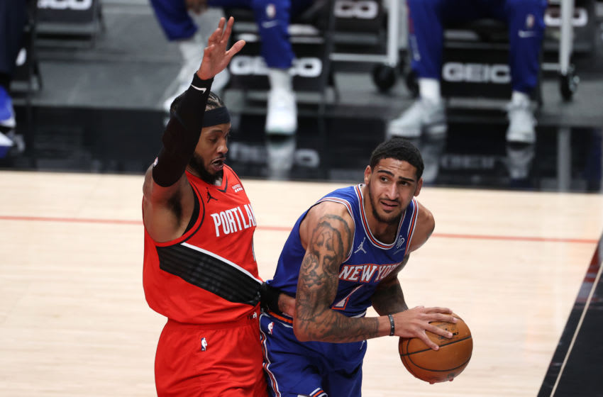 Obi Toppin, New York Knicks (Photo by Abbie Parr/Getty Images)