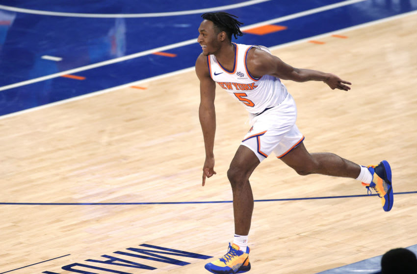 Immanuel Quickley, NY Knicks (Photo by Sarah Stier/Getty Images)