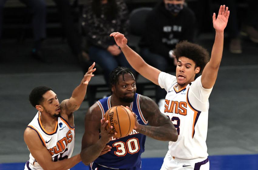Julius Randle, Knicks. (Photo by Elsa/Getty Images)
