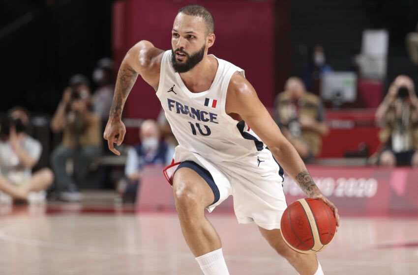 NY Knicks, Evan Fournier (Photo by Jean Catuffe/Getty Images)