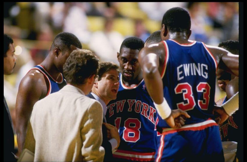 Patrick Ewing, New York Knicks (Photo: Rick Stewart /Allsport)