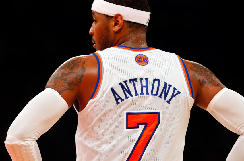 Carmelo Anthony, New York Knicks (Photo by Jim McIsaac/Getty Images)