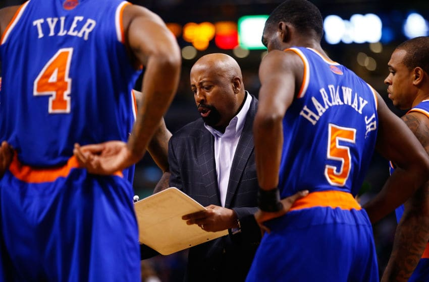Mike Woodson, New York Knicks (Photo by Jared Wickerham/Getty Images)