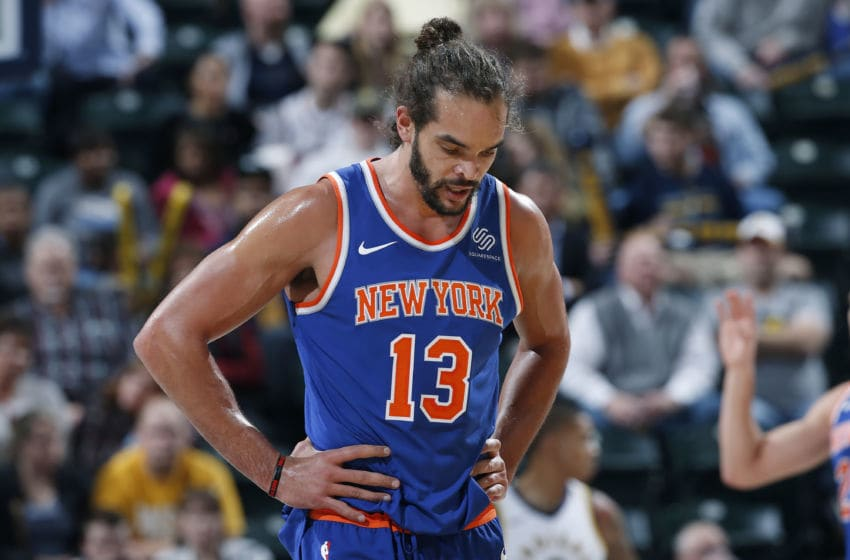 New York Knicks Joakim Noah (Photo by Joe Robbins/Getty Images)