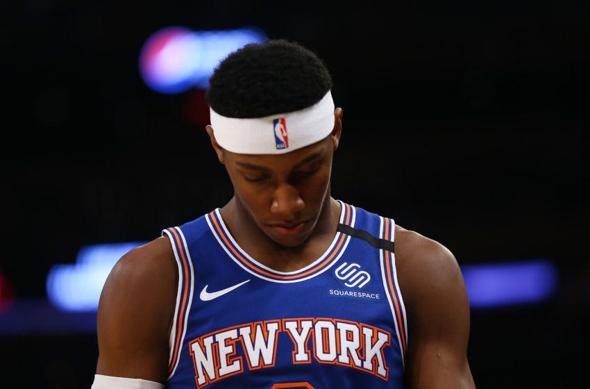RJ Barrett, Knicks. (Photo by Mike Stobe/Getty Images)
