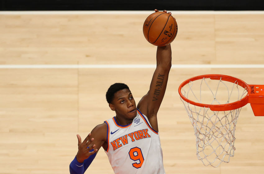 RJ Barrett, NY Knicks. (Photo by Kevin C. Cox/Getty Images)