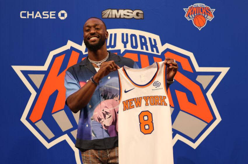 Kemba Walker, New York Knicks (Photo by Dustin Satloff/Getty Images)