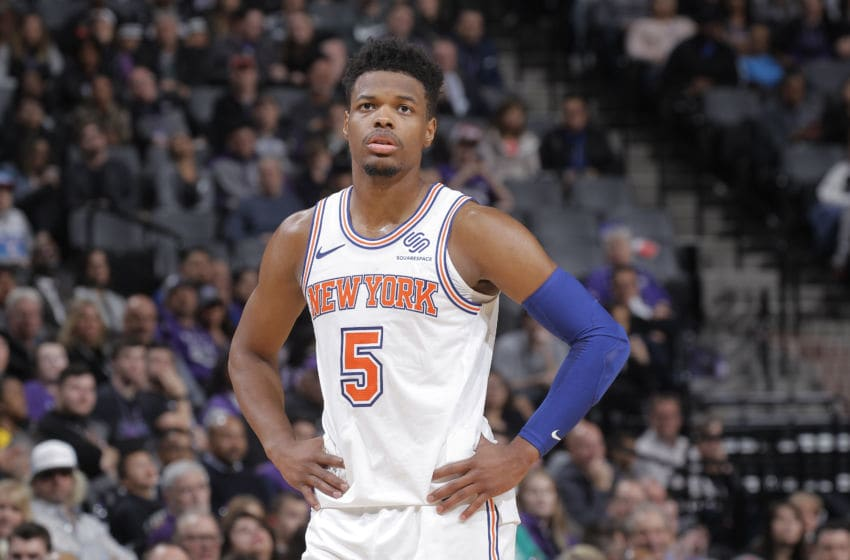 Dennis Smith Jr., New York Knicks (Photo by Rocky Widner/NBAE via Getty Images)