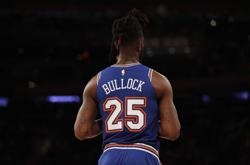 Reggie Bullock, NY Knicks (Photo by Michael Owens/Getty Images)
