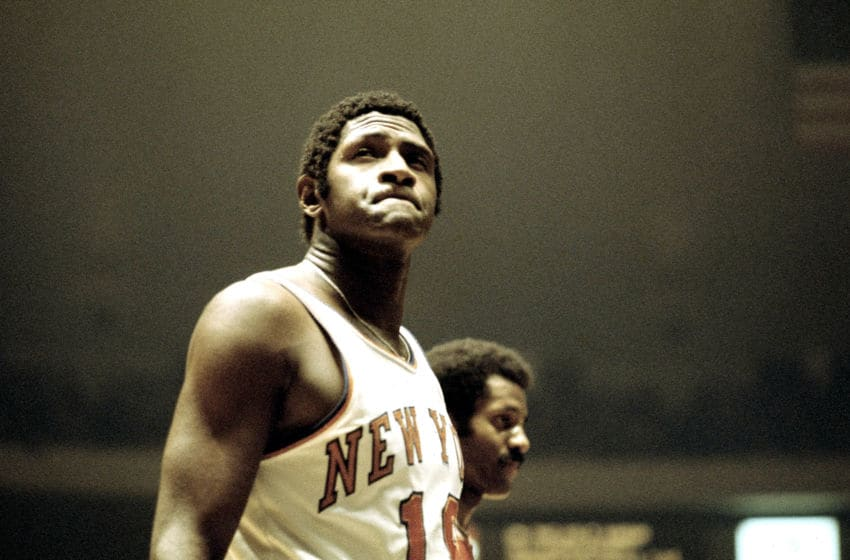 Willis Reed, New York Knicks (Photo By Ross Lewis/Getty Images)