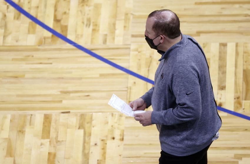 Tom Thibodeau, Knicks Mandatory Credit: Kim Klement-USA TODAY Sports