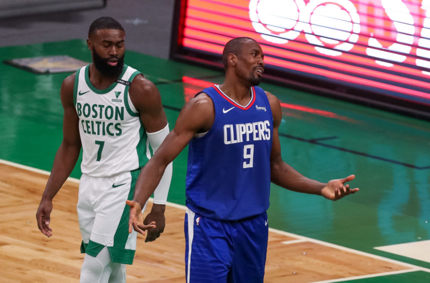 Serge Ibaka, Knicks: Paul Rutherford-USA TODAY Sports