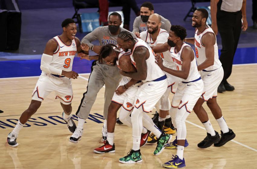 NY Knicks. Mandatory Credit: Adam Hunger/Pool Photo-USA TODAY Sports