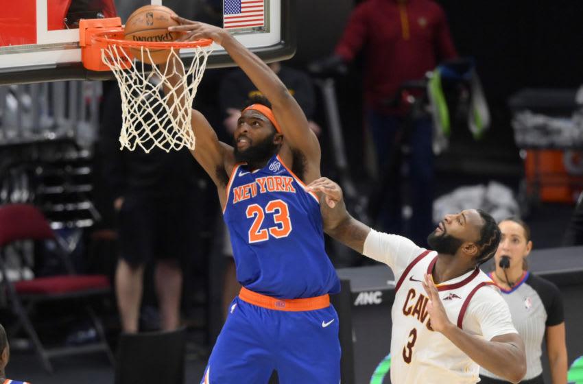 Mitchell Robinson, NY Knicks. Mandatory Credit: David Richard-USA TODAY Sports