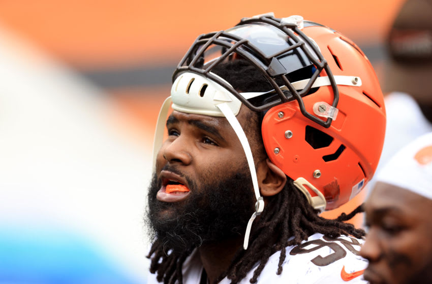 Sheldon Richardson, Cleveland Browns. (Photo by Justin Casterline/Getty Images)