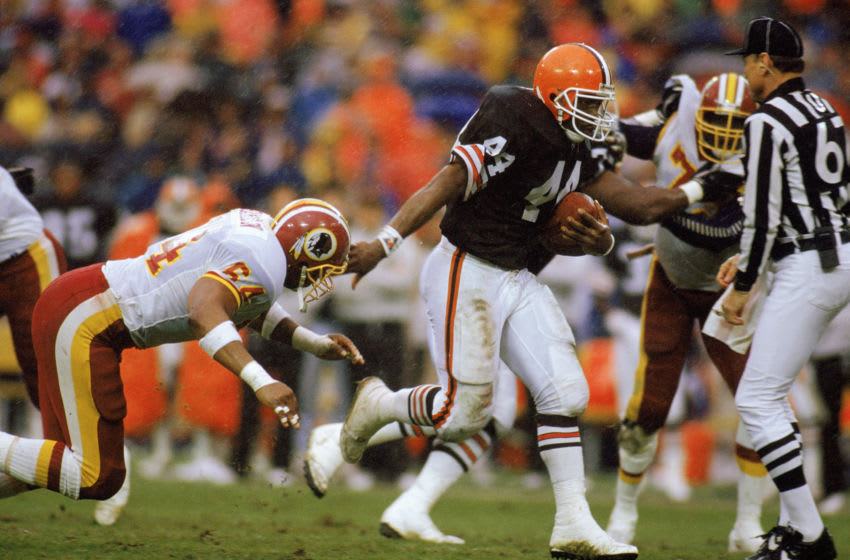 Earnest Byner, Cleveland Browns. (Photo by Rick Stewart/Getty Images)
