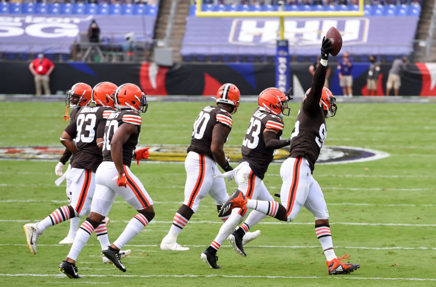 Cleveland Browns. (Photo by Will Newton/Getty Images)