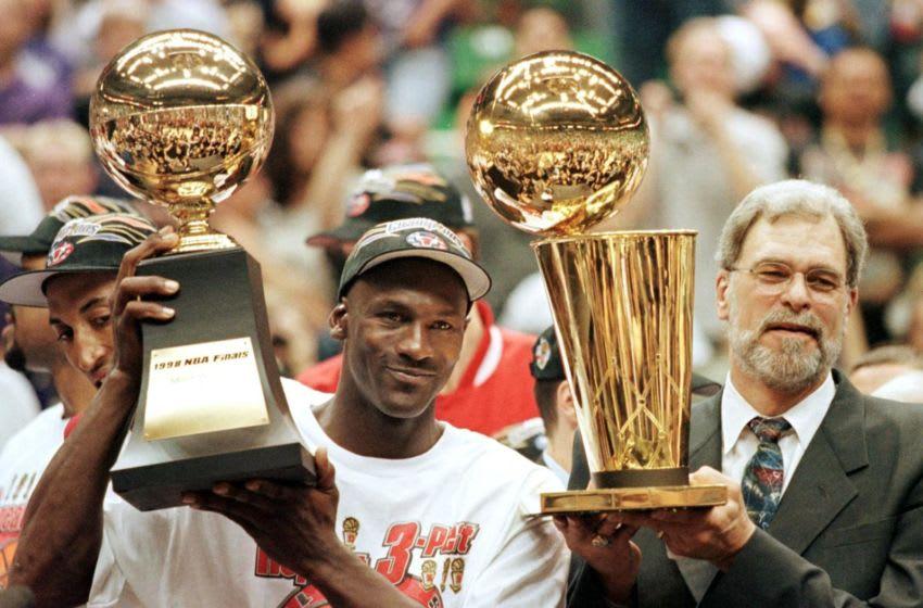 Chicago Bulls (Photo credit should read JEFF HAYNES/AFP via Getty Images)