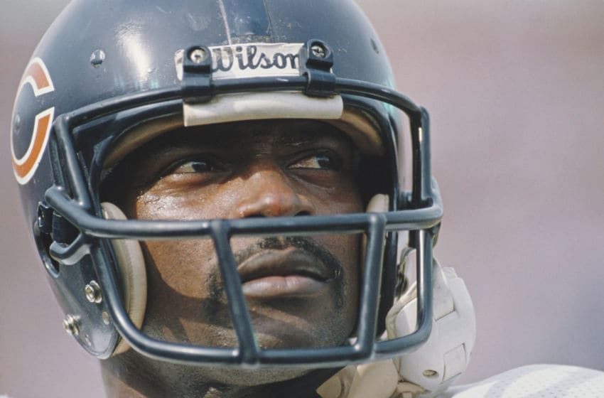 Walter Payton, Chicago Bears. (Photo by Mike Powell/Allsport/Getty Images)