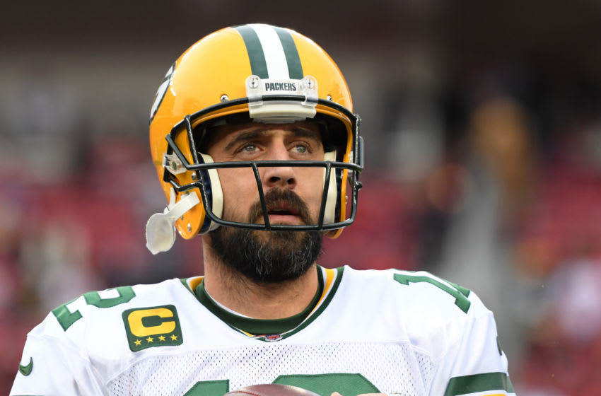 Aaron Rodgers, Green Bay Packers. (Photo by Harry How/Getty Images)