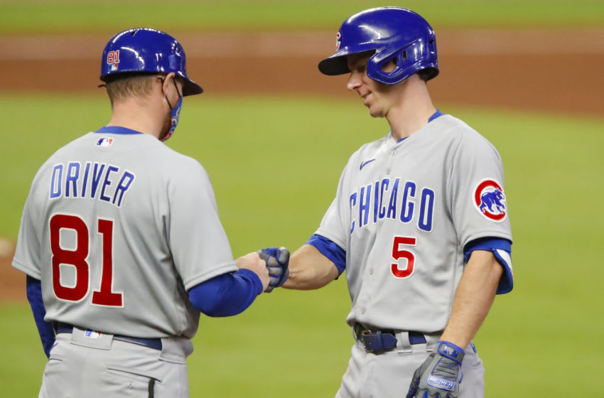 Craig Driver #81, Chicago Cubs (Photo by Todd Kirkland/Getty Images)