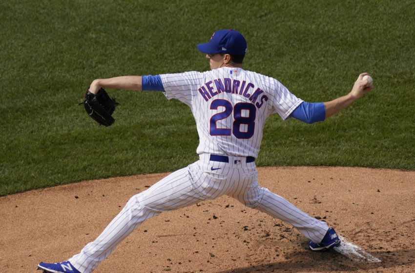 Kyle Hendricks #28, Chicago Cubs (Photo by Nuccio DiNuzzo/Getty Images)