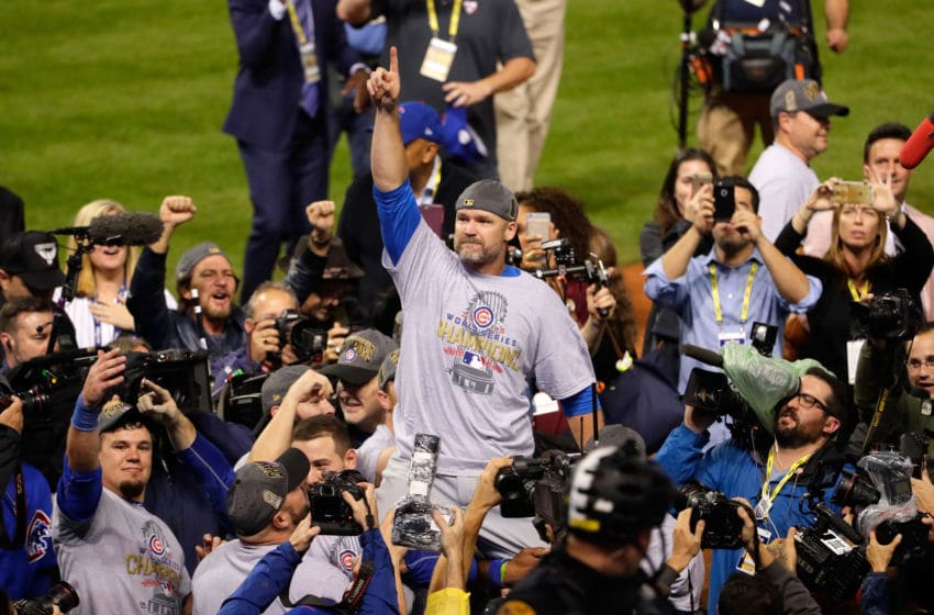 2016 in Cleveland, Ohio. The Cubs win their first (Photo by Jamie Squire/Getty Images)