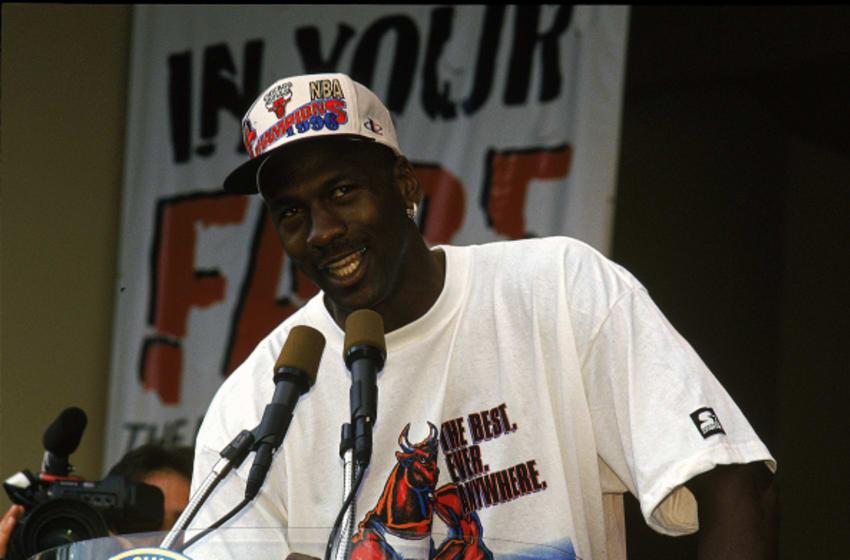 Chicago Bulls (Jonathan Daniel /Allsport)