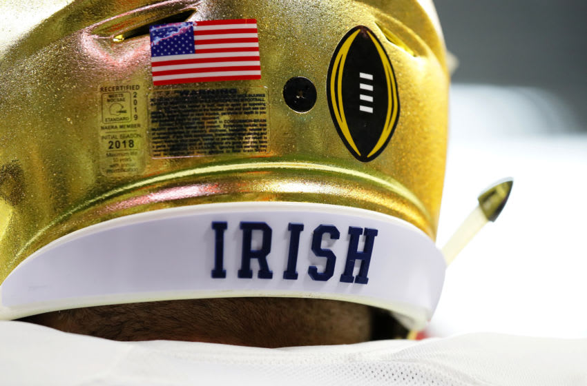 Notre Dame Fighting Irish. (Photo by Kevin C. Cox/Getty Images)