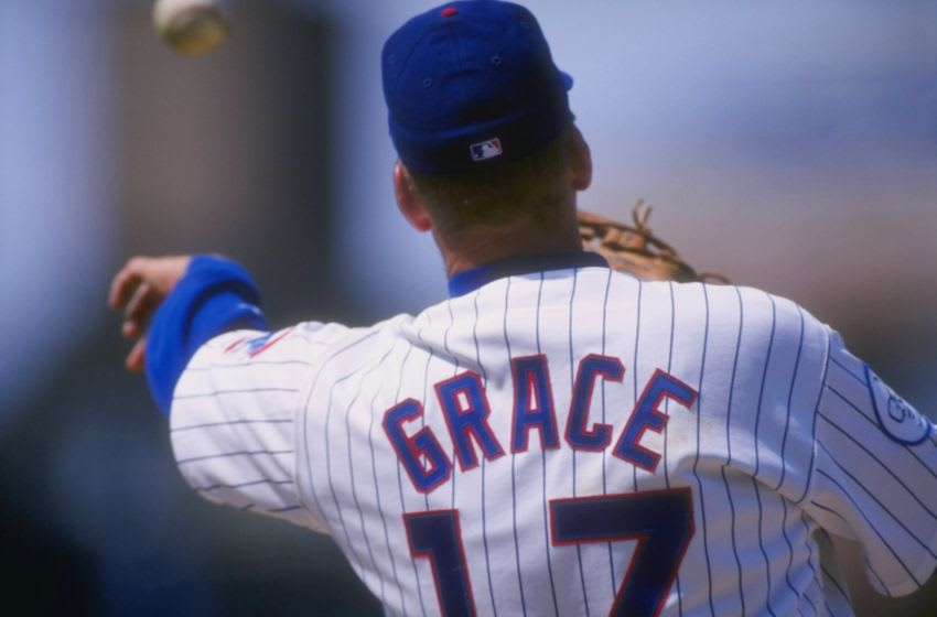 10 May 1998: Infielder Mark Grace of the Chicago Cubs in action during a game against the San Francisco Giants at Wrigley Field in Chicago, Illinois. The Giants beat the Cubs 3-0. Mandatory Credit: Matthew Stockman /Allsport