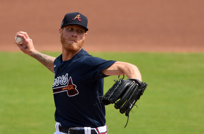 Chicago Cubs free-agent target Mike Foltynewicz (Photo by John David Mercer-USA TODAY Sports)