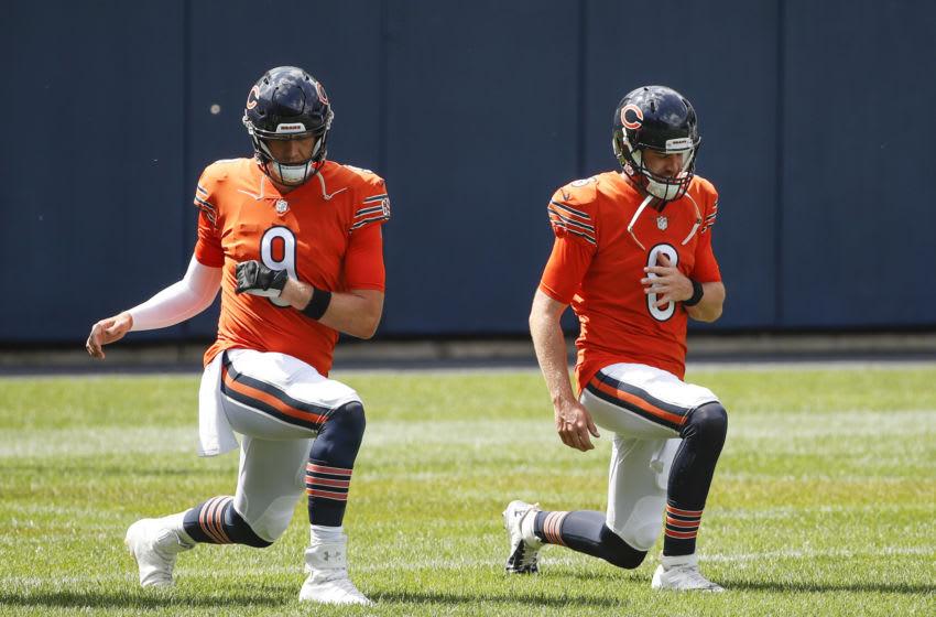 Nick Foles #9, Chicago Bears Mandatory Credit: Kamil Krzaczynski-USA TODAY Sports