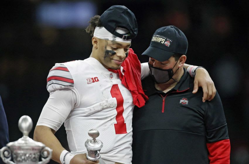 Quarterback Justin Fields and coach Ryan Day have proved to be a potent team for Ohio State. The health of one and the embracing of the moment of the other might determine whether the Buckeyes win a national title on Monday against Alabama. College Football Playoff Ohio State Faces Clemson In Sugar Bowl